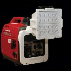 portable generator scene light