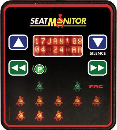 SEAT MONITOR & VDR SBA200