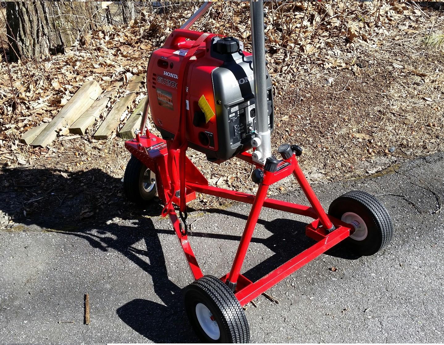 Portable Scene Light cart