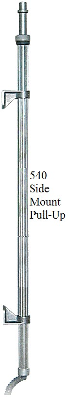 SPECTRA LED Extension Pole Top and side mount 510,512,530,540,542