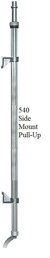 EVOLUTION LED Telescopic Pole Mounts  FCA510, FCA512, FCA530, FCA540, FCA542