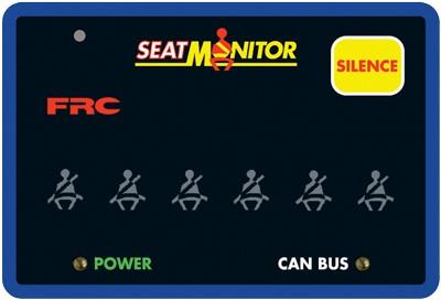 SEAT MONITOR & USB VDR  SBA441-A00
