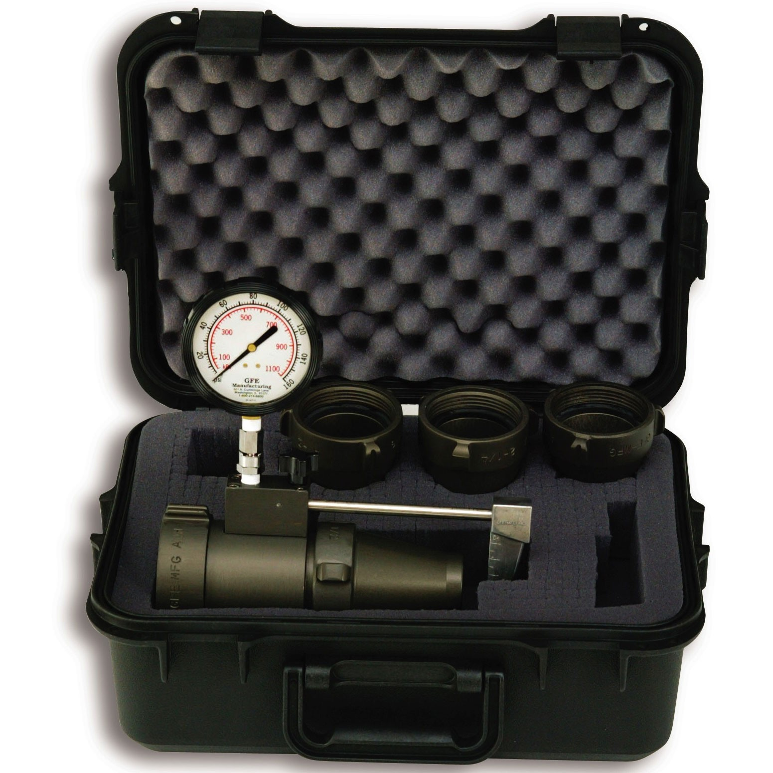 Apparatus flow test kits 2 1/2'' (65 mm) Flow Test Kit with Case
