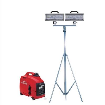 Spectra LED Double lighthead Tripod and generator combo, SPA600-K20-D-1