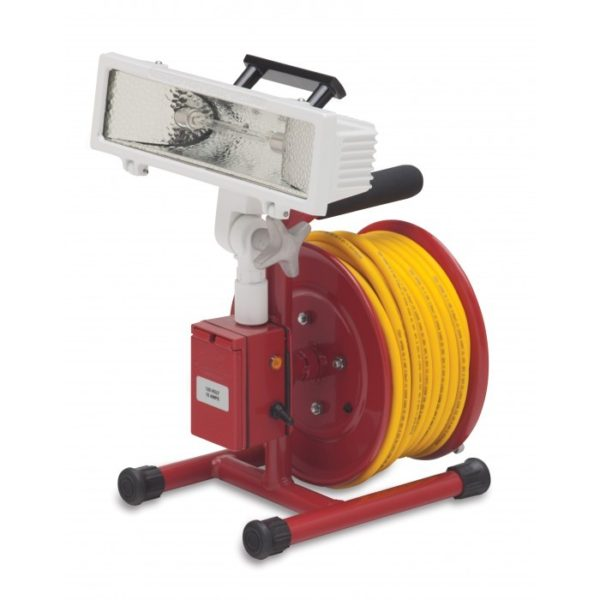10'' (254 mm) Live Cord Reel with Beta 4750 Light and Gang Box
