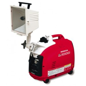 Honda EU1000i Generator with Low Profile Beta 750 Watt Light