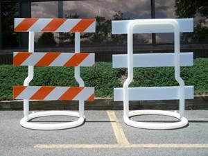 Type 3 barricades