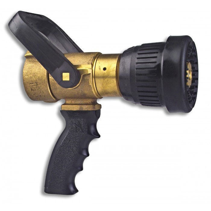 1 1/2'' Brass Fog Nozzle with Pistol Grip